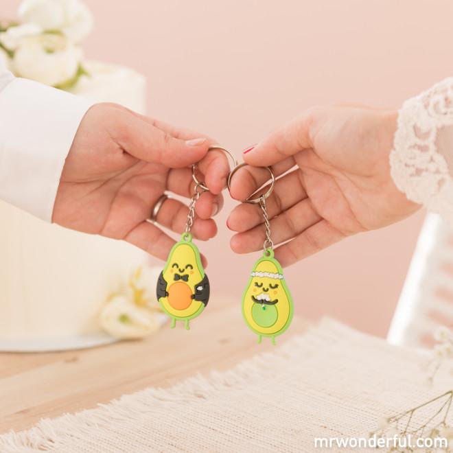 Set de 2 porte-clés de mariage - Avocat