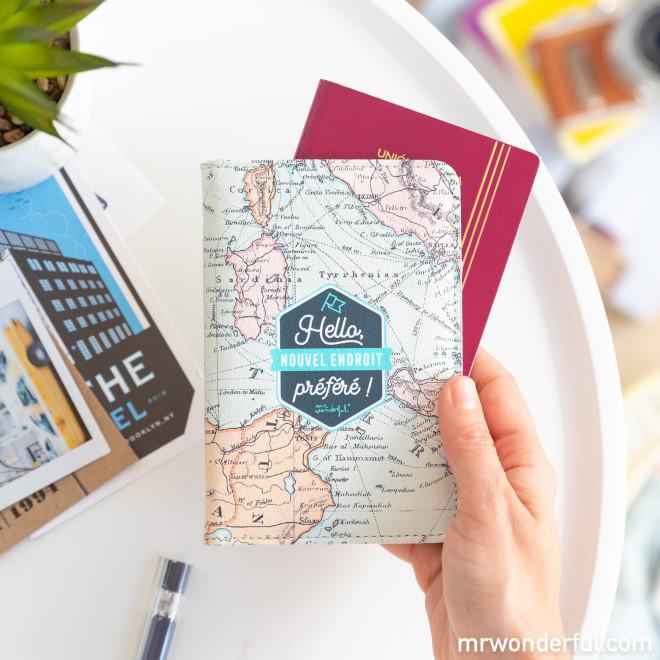 Porte-passeport - Hello, nouvel endroit préféré !