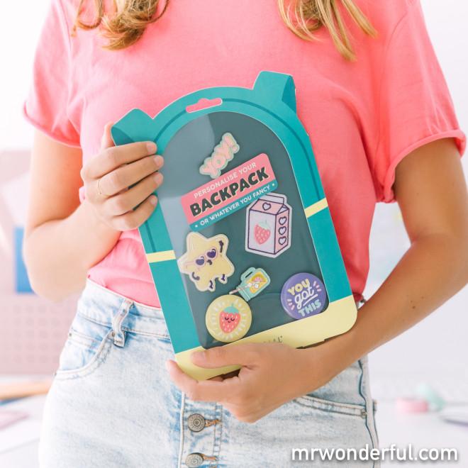 Set pour personnaliser ton sac ou ce que tu souhaites - Yay!