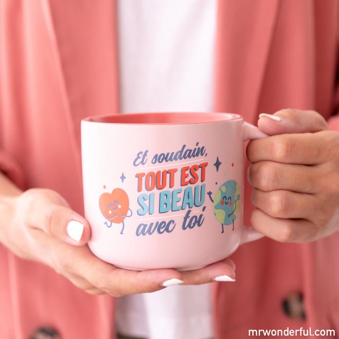 Mug - Et soudain, tout est si beau avec toi