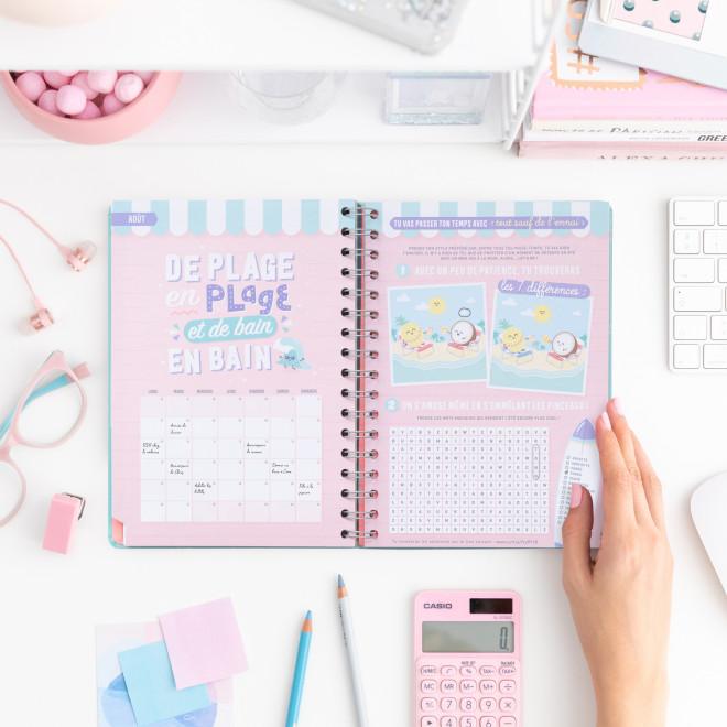 Agenda classique 2019-2020 Semainier - Mes projets, rendez-vous et idées