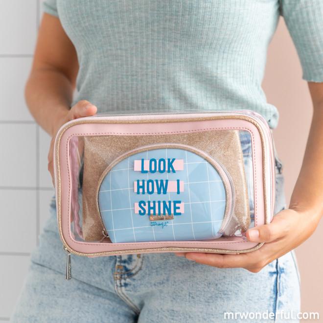 Set de 3 neceseres - Look how I shine!
