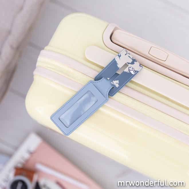Étiquette de bagage - Looking for a new favourite place