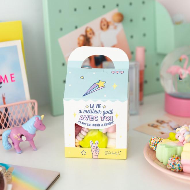 Boîte de bonbons - La vie a meilleur goût avec toi