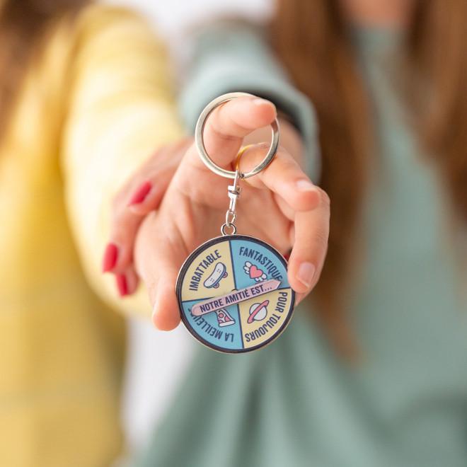 Porte-clés - Notre amitié est…