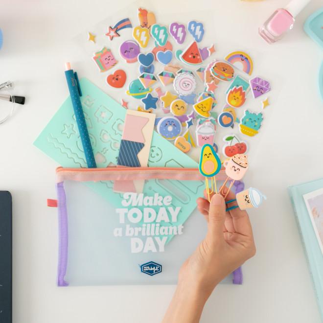 Kit pour décorer ton agenda - Make today a brilliant day