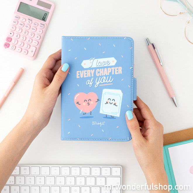 "Housse pour E-book de 6"" - I love every chapter of you"