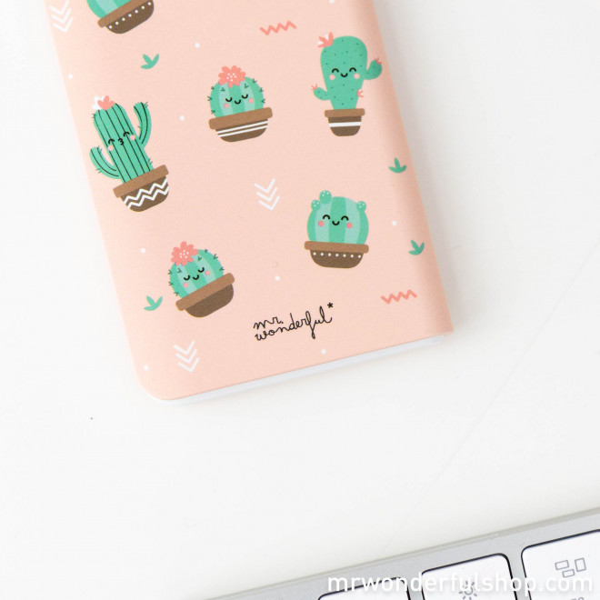 Power bank 4.000 mAh - Cactus