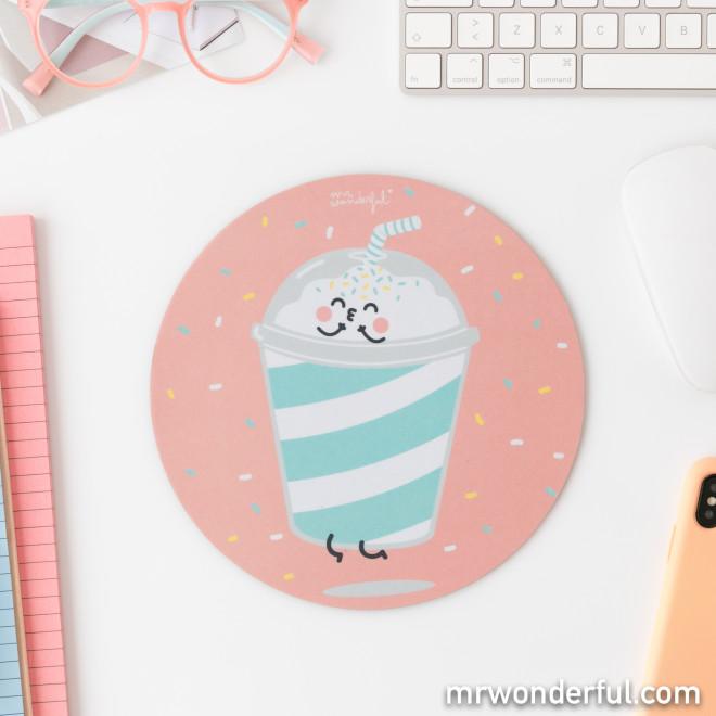 Tapis de souris - Milkshake