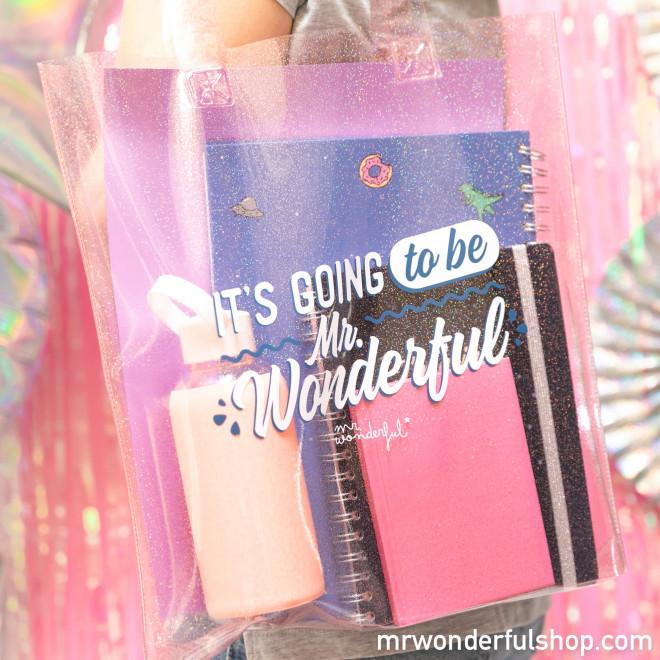 Bolsa con purpurina - It's going to be Mr. Wonderful
