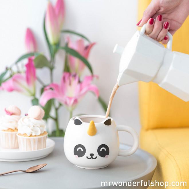 Mug panda à corne