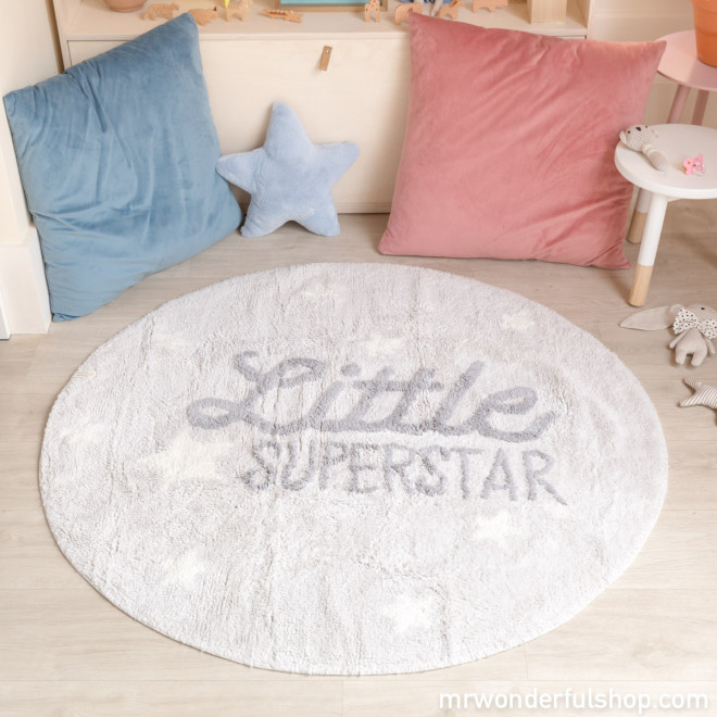 Alfombra lavable Lorena Canals - Little Superstar