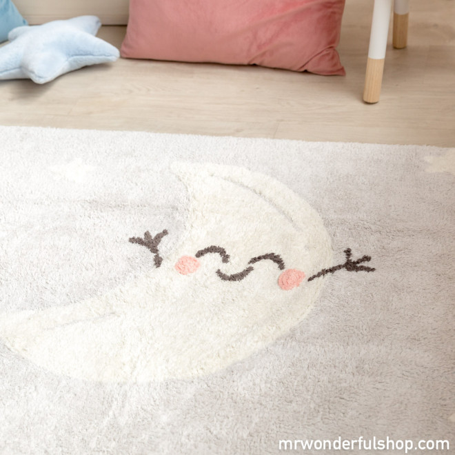 Alfombra Lavable - Happy moon