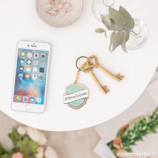 Porte-clés -maman