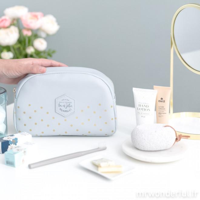 Trousse de toilette personnalisée - mamie