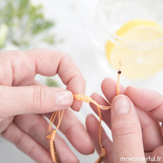 Bracelet cordon - Mamie