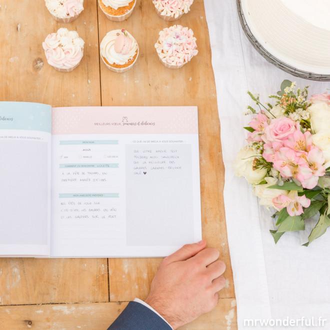 Livre d'or d'un mariage incroyable