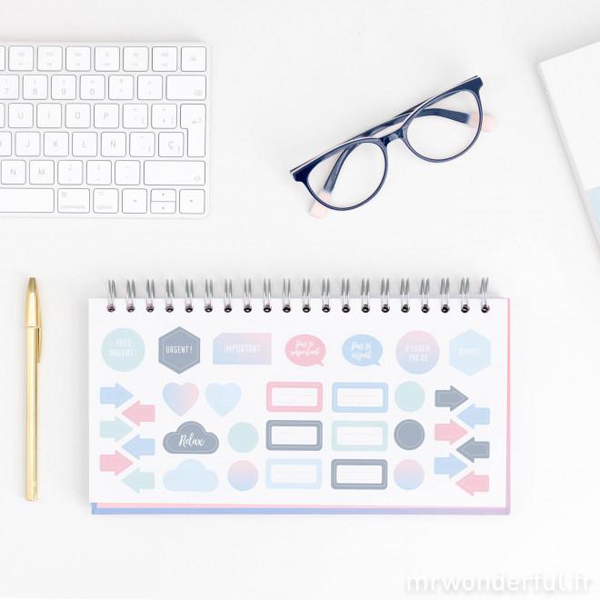 Organisateur hebdomadaire  - Projets, projets et encore plus de projets (FR)