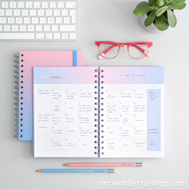 Planner - Dream, create and go for it