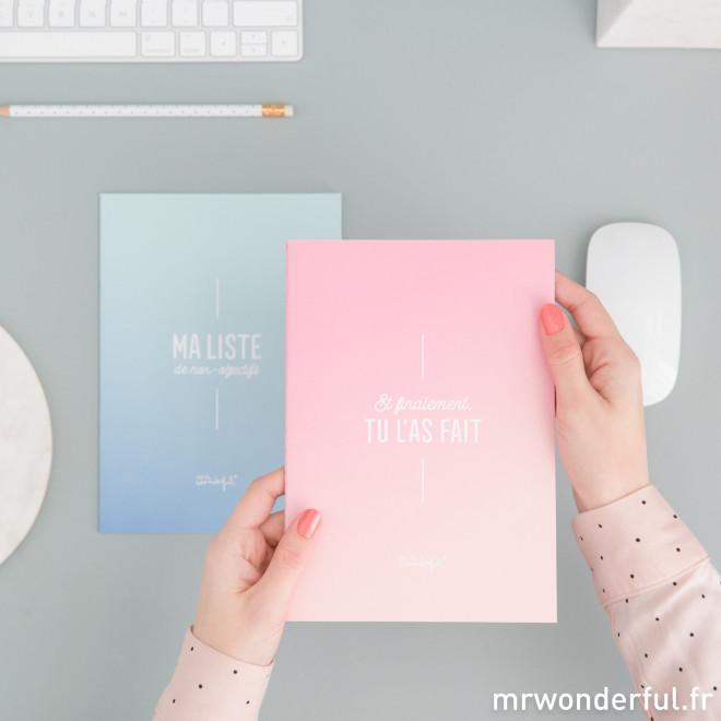 Set de deux cahiers bourrés d'inspiration (FR)