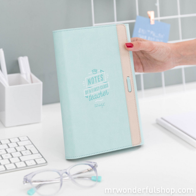 Porte-documents - Notes pour une maîtresse qui a la classe
