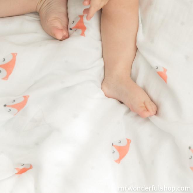 Couverture doudou pour bébé