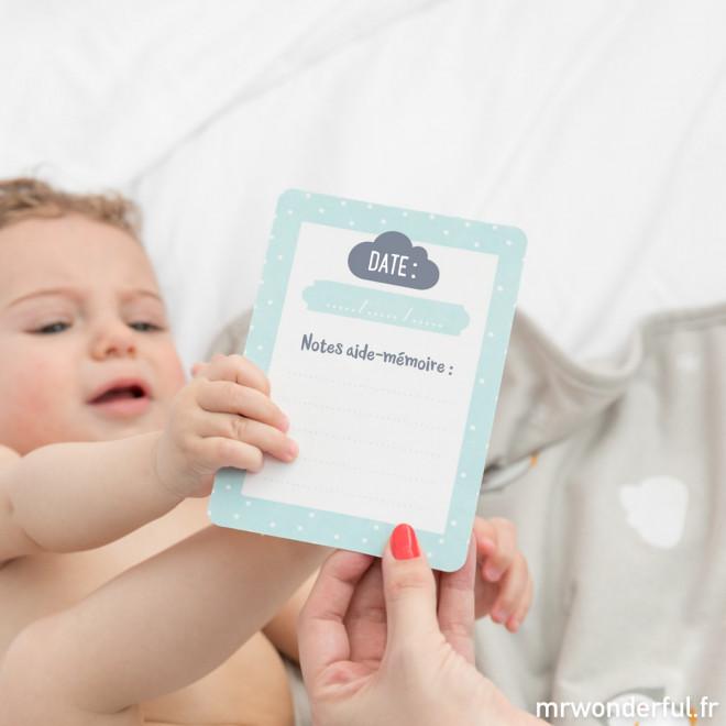 cartes bébé anniversaire
