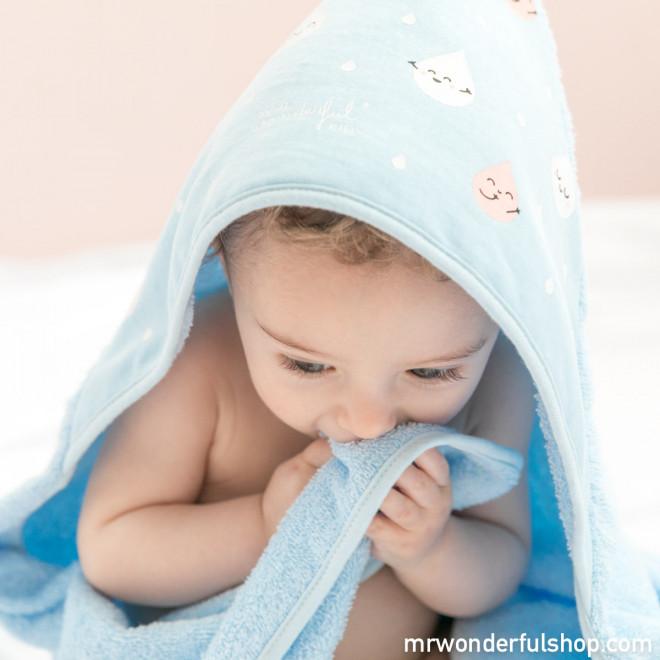 Serviette de bain bebe