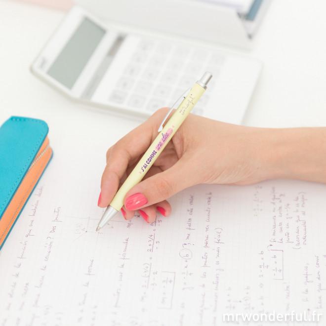 Kit d'écriture pour idées brillantes
