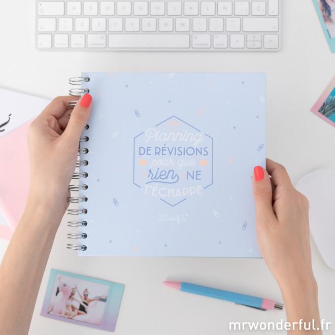 Planning de révisions pour que rien ne t'échappe