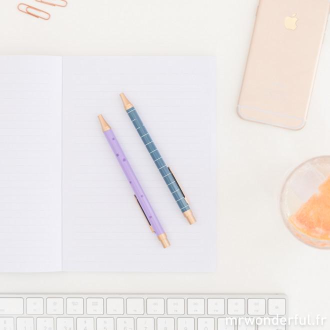 Set d'écriture - Notes et objectifs (FR)