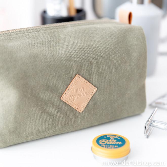 Green vanity bag - I have big plans
