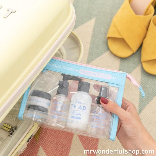 Vanity bag - I always travel filled with joy! (