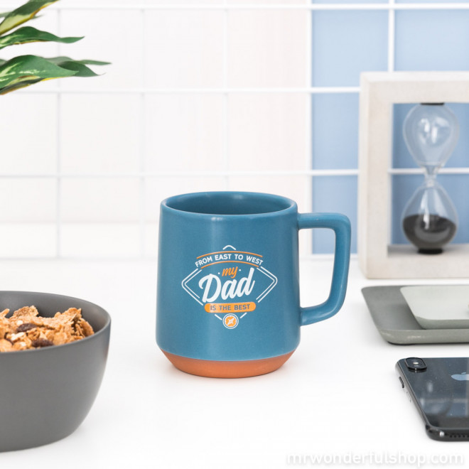Mug - From east to west, our Dad is the best