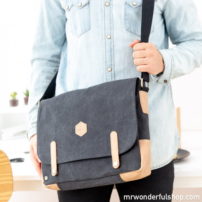 Blue shoulder bag - Make it work