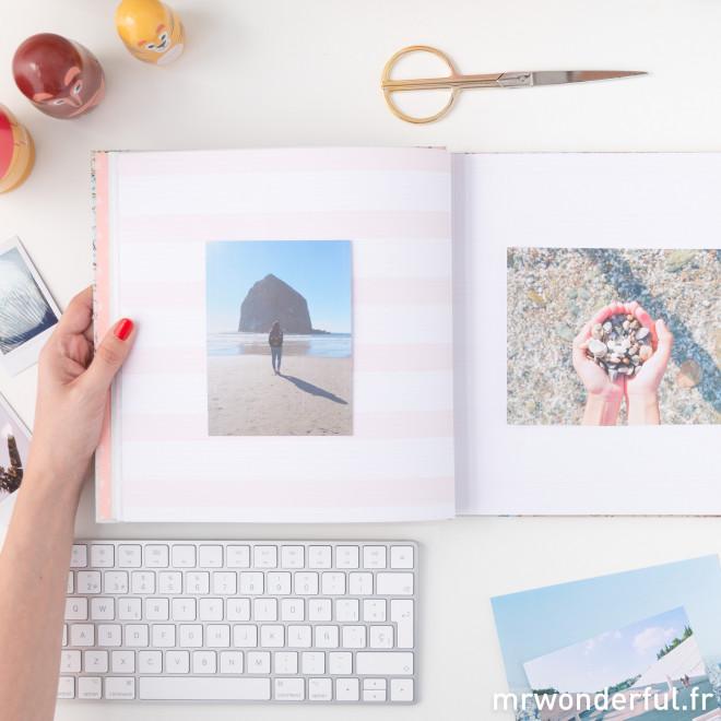 Album photos - Ici, je garde des voyages inoubliables