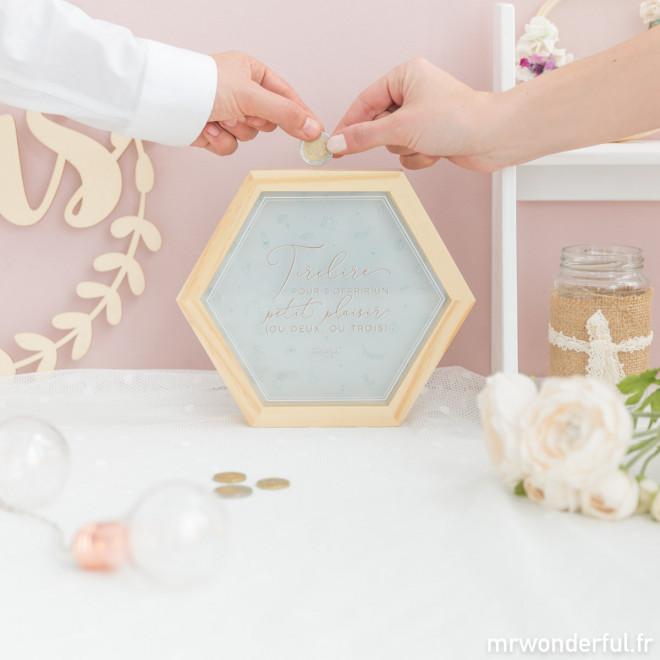 Tirelire pour marriage