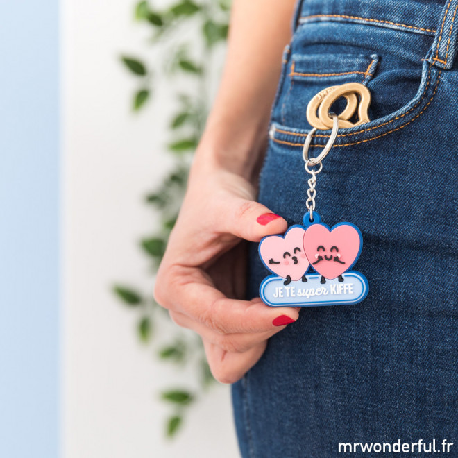 porte-clés amour