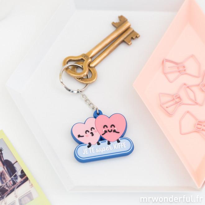 porte-clés amour et amitié