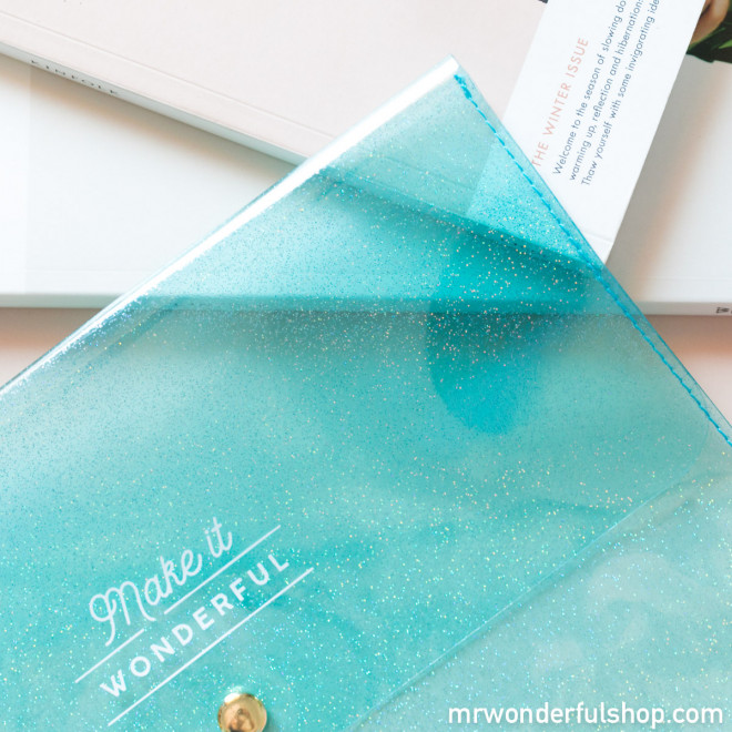 Housse pour petit agenda - Make it wonderful
