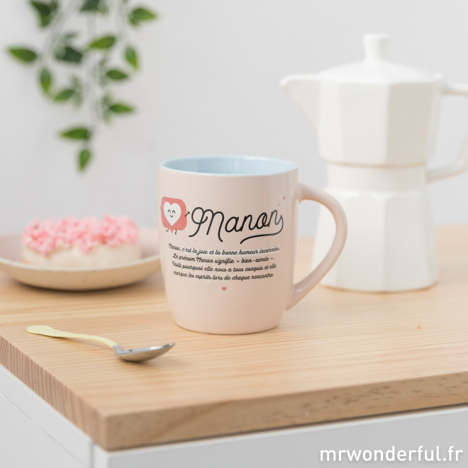 Mug Manon - Wonderful names