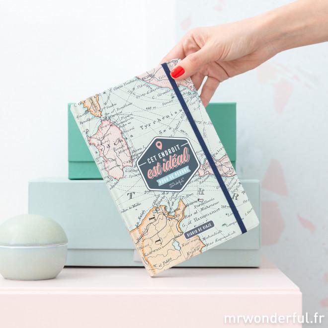 Carnet de voyage - Cet endroit est idéal pour se perdre