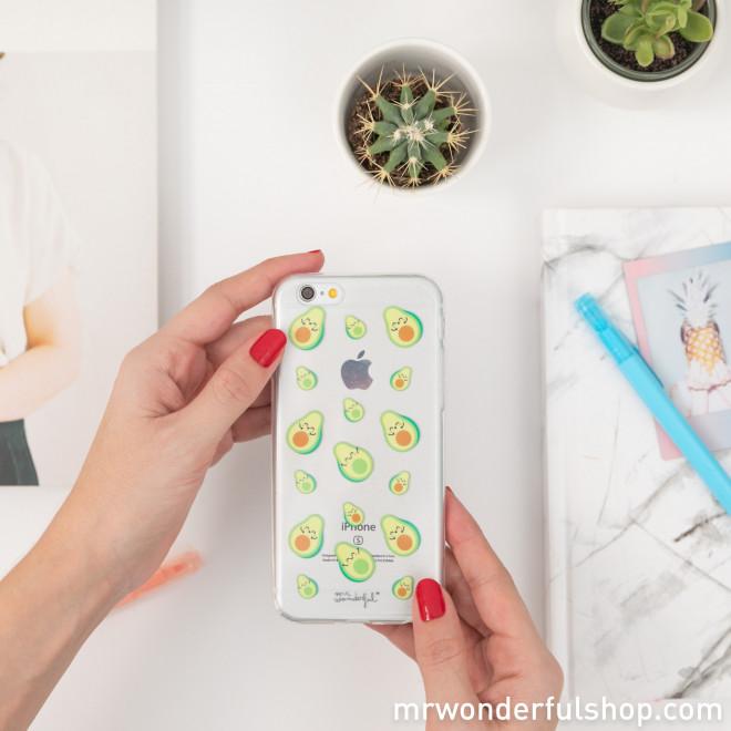 Coque transparente pour iPhone 6 - Avocats