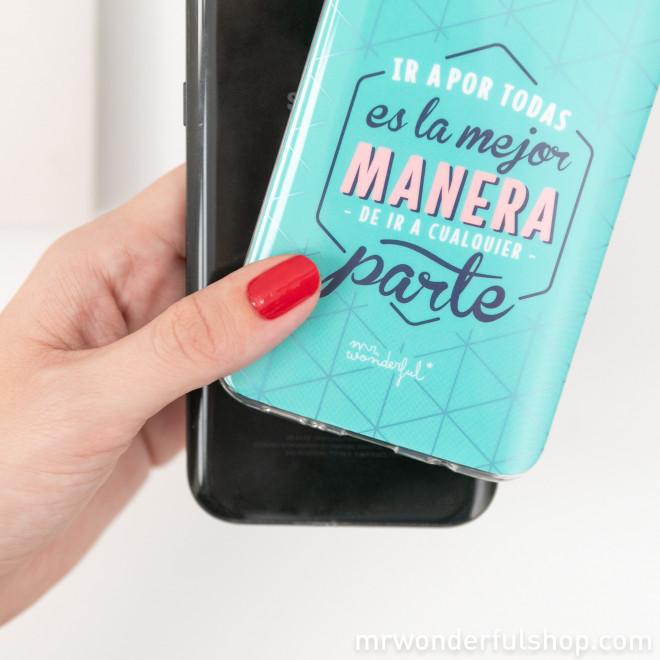 Carcasa para Samsung S9 Plus - Ir a por todas es la mejor manera de ir a cualquier parte