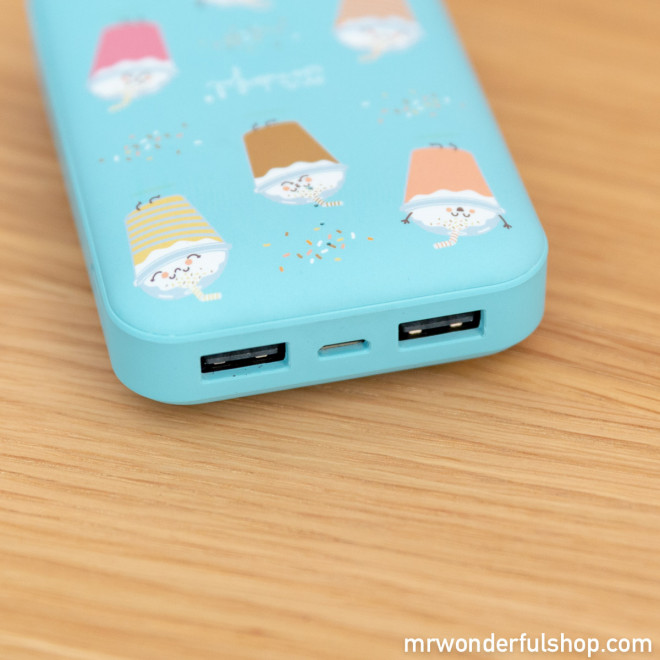 Power bank 10.000 mAh - Smoothies