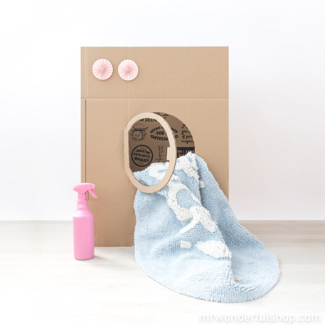 Tapis lavable Lorena Canals - Baby, you rock !
