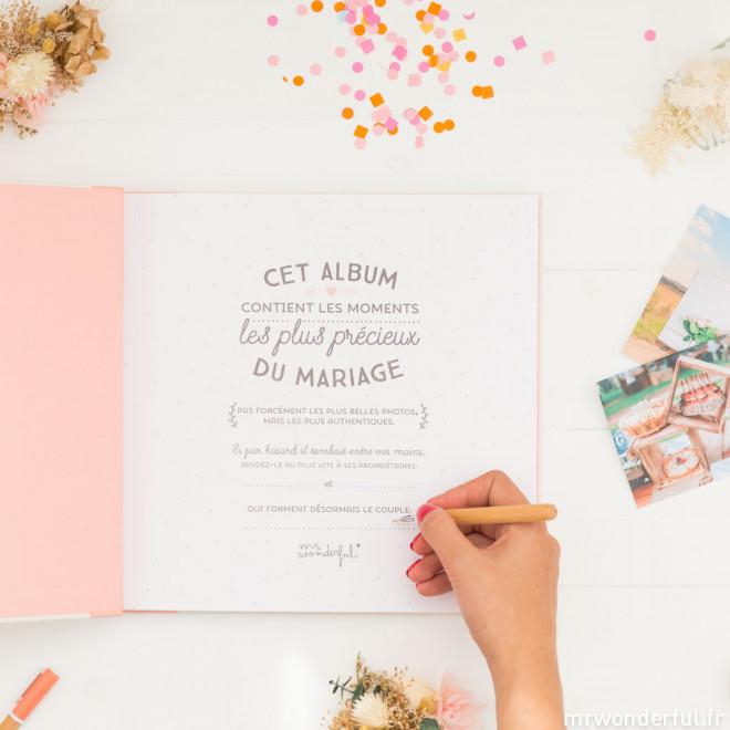 Album non officiel de notre mariage (FR)