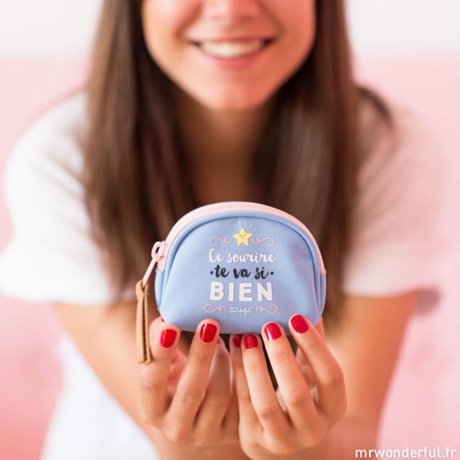 Porte-monnaie - Ce sourire te va si bien (FR)