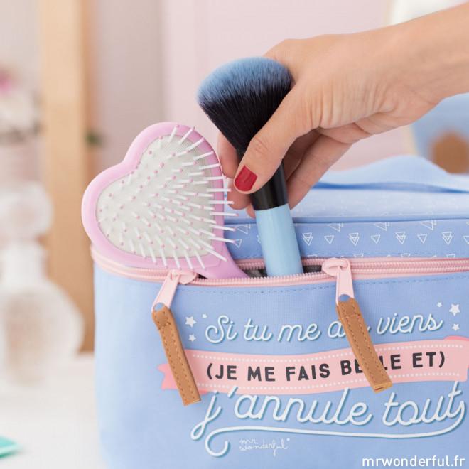 Grande trousse de toilette - Si tu me dis viens (je me fais belle et) j'annule tout (FR)