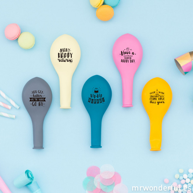 Ballons - For cool birthday parties (ENG)